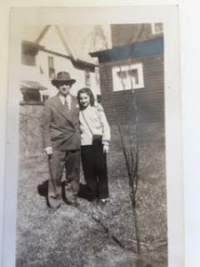 The pear tree was planted by the Rosenbergs in 1946.